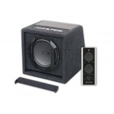 "Alpine SWE-815 8"" (200mm) Amplified Subwoofer Box"