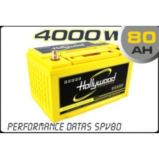 80AH AGM Battery 12V Hollywood